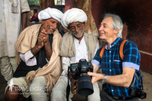 Learn travel photography and meet the local people in India